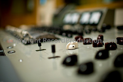 Classic EMI mixing desk at British Grove Studios