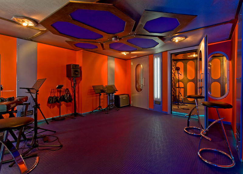 Chestnut music recording studios London - main recording area