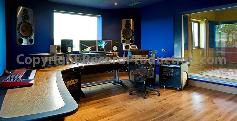 Far Heath recording studios Northamptonshire UK.