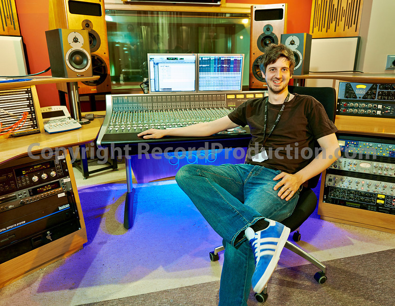Simon at The Grand Studios