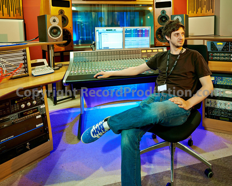 Simon Stride at The Grand Studios