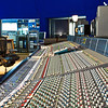 SSL J Series Mixing Console in Recording Studio