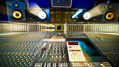 SSL J Series Mixing Console at Hook End Manor Recording Studio
