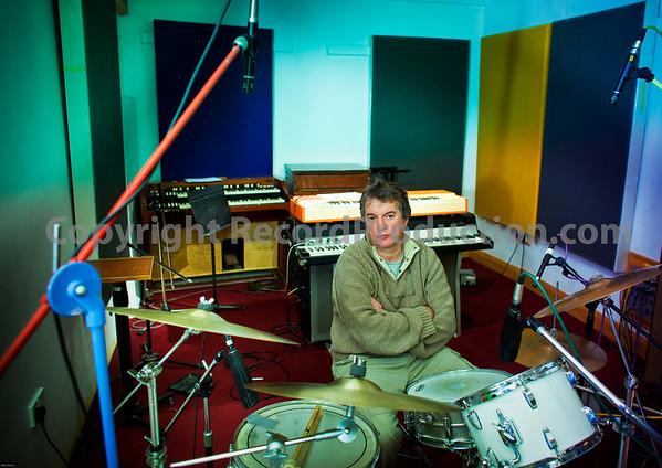 Intimate recording studios London UK, owner Paul Madden