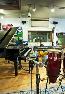 Intimate recording studios London UK
