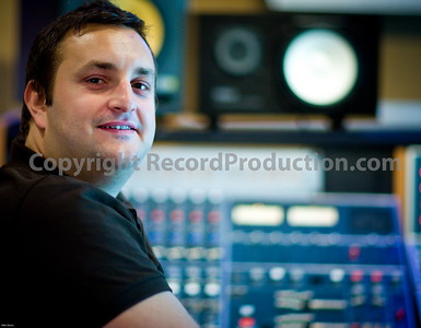 Leeders Farm Recording Studios - Fantastic residential music studio in the UK.  Recording engineer and record producer Nick Brine behind the mixing console