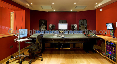 One of our favourite photographs of Modern World Studios control room.  Featuring SSL Duality mixing console and Exigy monitors this is one of the nicest control rooms around, not huge but just right and mixes taken out of here sound great.