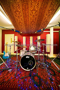 The new drum room at Modern World