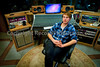 Recording engineer and producer Tom Peters at Monkey Puzzle House Studios