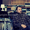 Record Producer Al Groves at Motor Museum Studios, Liverpool