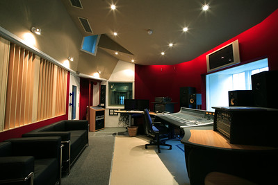 The Prod Room at Real World Studios, Bath, UK.