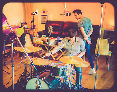 Drum Recording at Clint Murphy