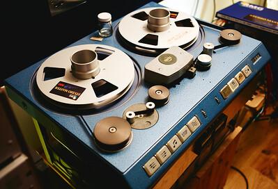 Classic Studer C37 valve tape machine