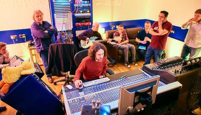 Producer day at Rimshot Studios