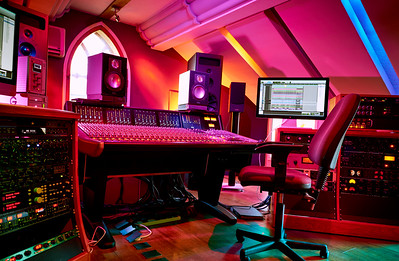 Woodworm Studios, UK music recording studio with SSL Duality mixing console and PMC monitoring