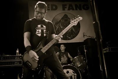 Red Fang, 10/27/2012, Slim's, San Francisco