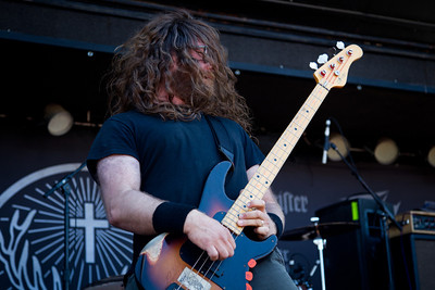 Red Fang  7/10/2011, Rockstar Mayhem Festival, Mt View  My portfolio at http://www.skaffari.fi  On Facebook http://www.facebook.com/Miikka.Skaffari.Photography