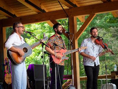 Trent, Jay, and Eric of The Steel Wheels, the gospel set.