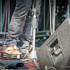 Tambourine foot