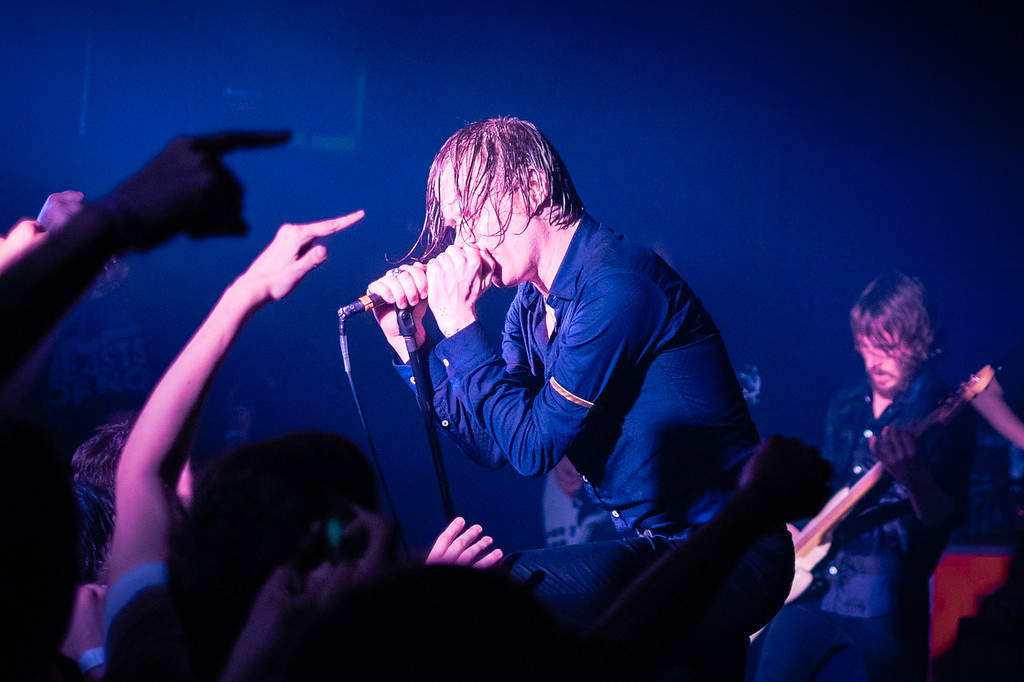 Refused, Puff Pieces and Creepoid at Rock and Roll Hotel in Washington DC. June 5, 2015.