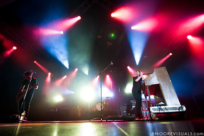 """Relient K performs on September 11, 2010 during """"Rock The Universe"""" at Universal Studios in Orlando, Florida"""