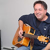 Dan Kirouac of Westmister a member of the Beatles for Sale cover band talk and about the Beatles and the 50th anniversary of their first American TV appearance. He got out his guitar and sang a couple tones from  the band. SENTINEL & ENTERPRISE/JOHN LOVE
