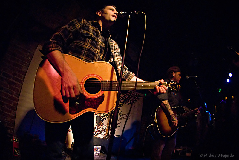 Tye Battistella and Brent Loveday of Reno Divorce Acoustic set at Scruffy Murphy's Irish Pub Denver, CO  March 10, 2011