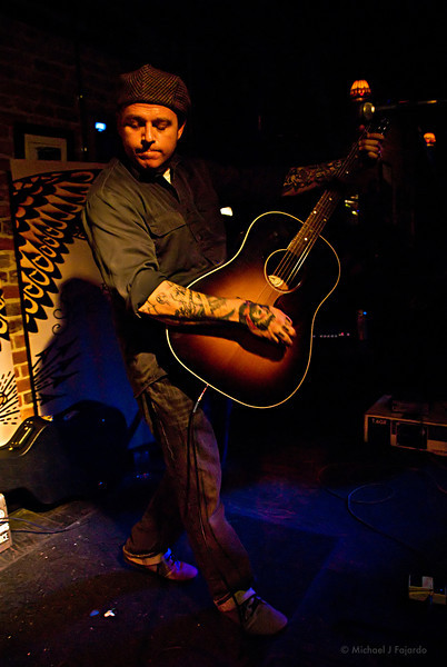 Brent Loveday of Reno Divorce Acoustic set at Scruffy Murphy's Irish Pub Denver, CO  March 10, 2011