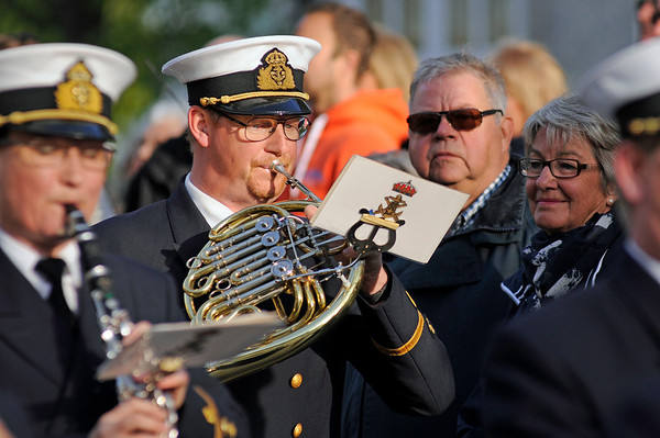 Revelj med Marinens Musikkår Karlskrona 2014