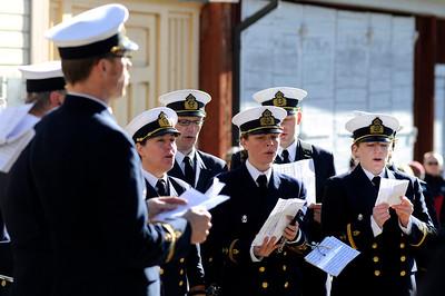 Marinens Musikkårs kör