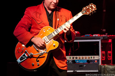 Jim Heath, aka Reverend Horton Heat, performs on June 5, 2010 at The Ritz in Ybor City, Tampa, Florida