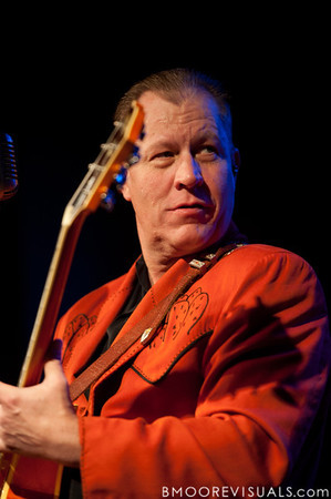 Reverend Horton Heat performs on June 5, 2010 at The Ritz in Ybor City, Tampa, Florida