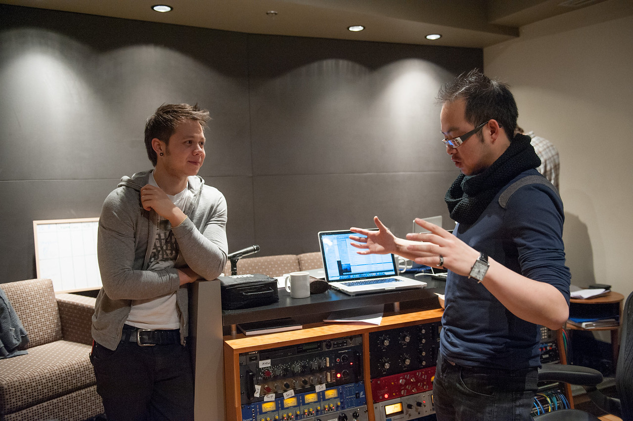 Christopher Luk 2013 - Revolution Recording - Day 1 Studio C - Rewritten Band 019
