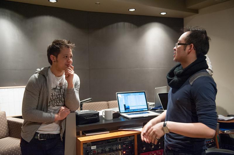 Christopher Luk 2013 - Revolution Recording - Day 1 Studio C - Rewritten Band 018