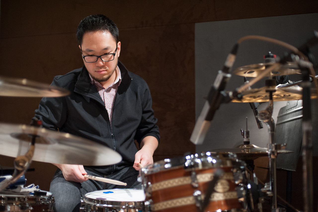 Christopher Luk 2013 - Revolution Recording - Day 1 Studio C - Rewritten Band 008
