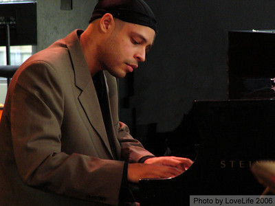 - Zaccai Curtis -  has been performing since the age of five. As a young child, he studied many styles of music including jazz, salsa and classical. As a high school student, Zaccai earned many festival musical awards and was recognized by Down Beat magazine as the top piano performer. He was also chosen as the pianist for the National Grammy Band Combo. He is currently pursuing his master's degree at the New England Conservatory. In 2003, Mr. Zaccai was chosen as a winner of ASCAP Young Jazz Composer's Competition.