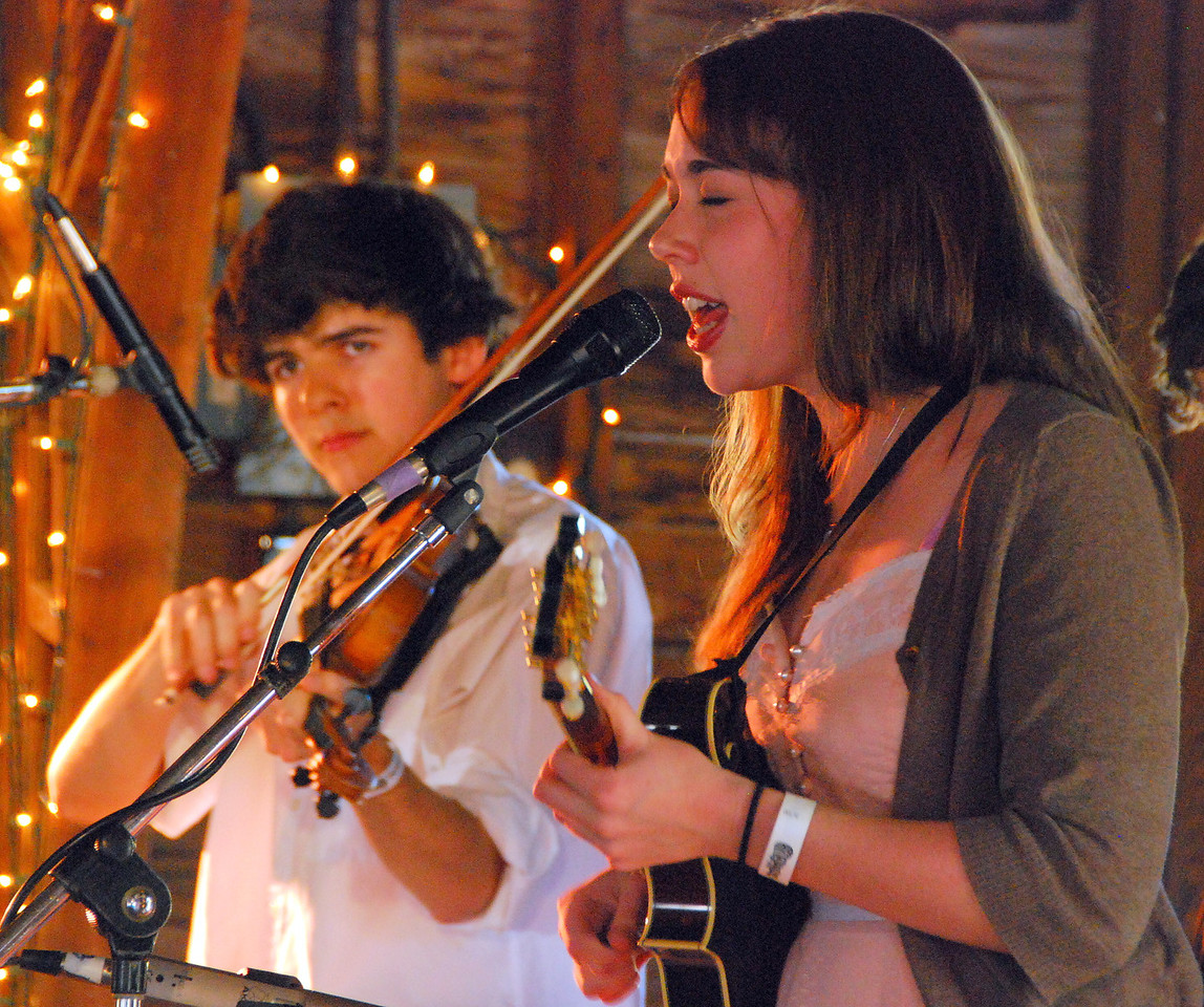 Alex Hargreaves and Sarah Jarosz