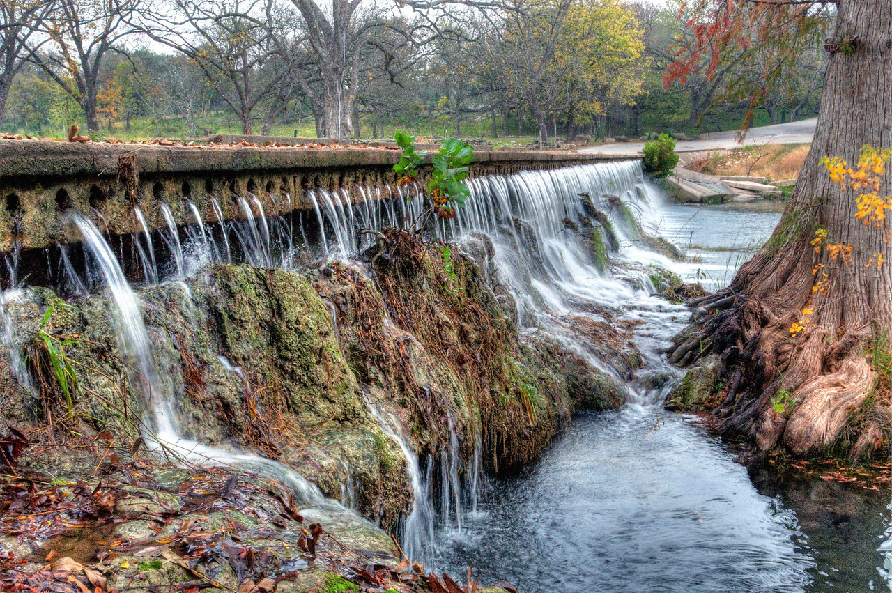 Spillway over Cypress Creek, Wimberley, TX