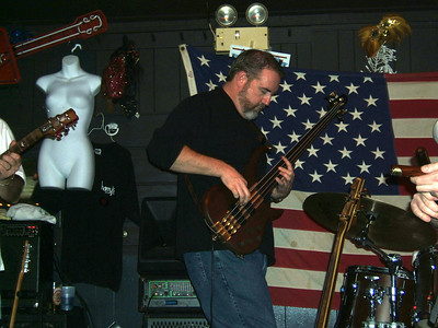 Rich Hill on bass