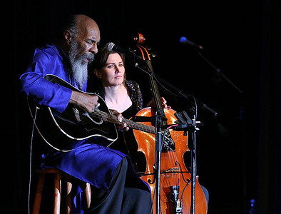 Richie Havens and Stephanie Winters.