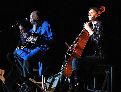 Walter Parks, Richie Havens and Stephanie Winters.