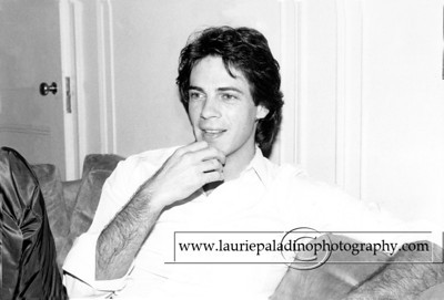 "RickSpringfield_091181_101  Rick Springifeld, actor and pop star pictured in New York City hotel room during an interview to promote  his 1981 RCA album ""Working Class Dog"""
