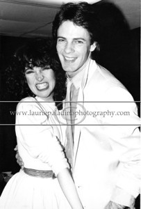 "RS_102 Musician and actor (""General Hospital"" ""Californication"") Rick Springfield after a performance at The Capital Theater in Passaic, New Jersey. Rick Springfield is pictured with singer Karla DeVito who opened the show."