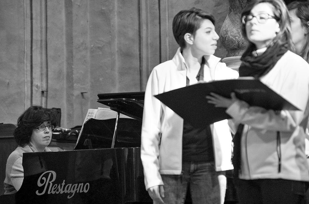 Alice Botta e il coro Gaiamusica