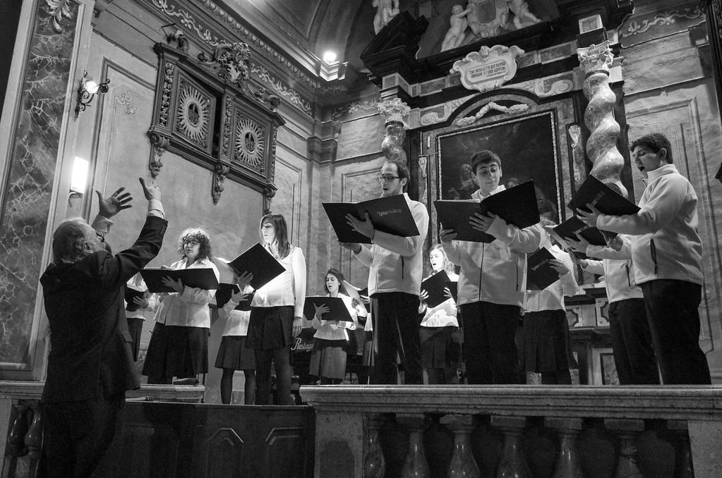 Renato Contino e il coro Gaiamusica