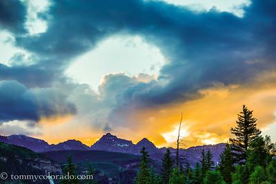 San Juan Sunrise over Telluride