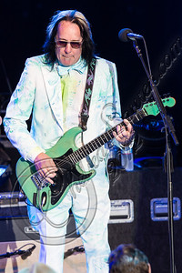 LOS ANGELES, CA - JULY 21:  Musician Todd Rundgren performs with Ringo Starr and his All Starr band at The Greek Theatre on July 21, 2012 in Los Angeles, California.  (Photo by Chelsea Lauren/WireImage)