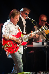 Rick Derringer, Richard Page, and Gary Wright perform with Ringo Starr & His All-Starr Band at Ruth Eckerd Hall in Clearwater, Florida on July 13, 2010. The band also features Wally Palmar, Edgar Winter, and Gregg Bissonette.