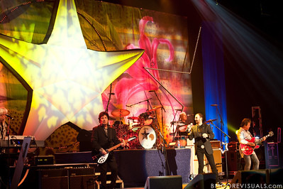 Ringo Starr & His All-Starr Band perform at Ruth Eckerd Hall in Clearwater, Florida on July 13, 2010. The band also features Wally Palmar, Rick Derringer, Edgar Winter, Gary Wright, Richard Page, and Gregg Bissonette.