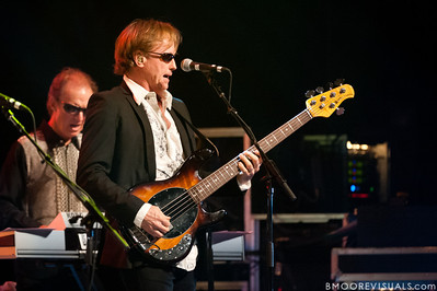 Richard Page performs with Ringo Starr & His All-Starr Band at Ruth Eckerd Hall in Clearwater, Florida on July 13, 2010. The band also features Wally Palmar, Rick Derringer, Edgar Winter, Gary Wright, and Gregg Bissonette.